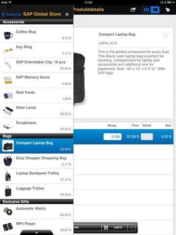 SAP Business ByDesign Active Sales App Fig. 2