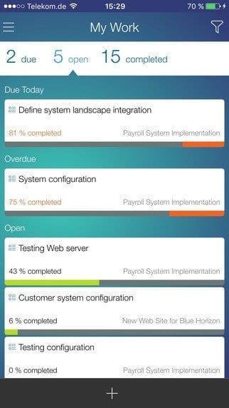 SAP Project To Go App Illus. 2