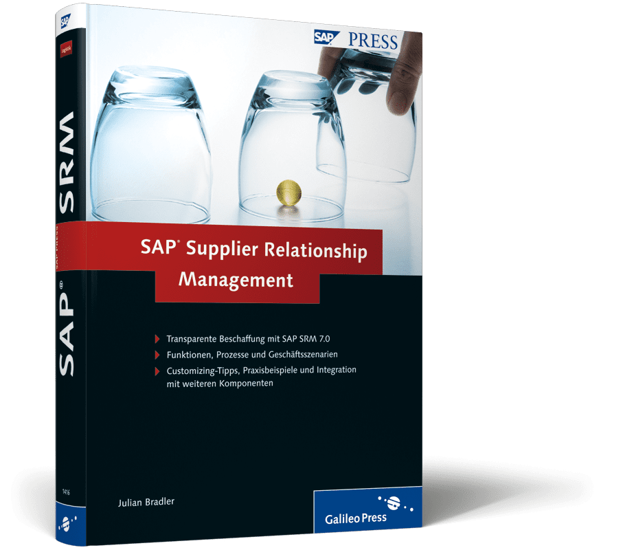 Buch SAP Supplier Realtionship Management